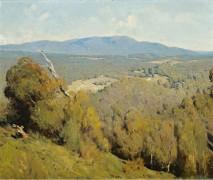Пейзаж в долине реки Ярра, 1918 - Бойд, Теодор Пенли