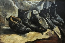 Три пары обуви (Three Pair of Shoes), 1886 - Гог, Винсент ван