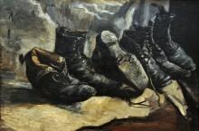 Три пары обуви (Three Pair of Shoes), 1886 - Гог, Винсент ван
