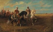 Арабский всадник - Шрейер, Адольф