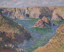 Порт Домис, 1886 - Моне, Клод