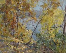 Дубы и тополя, 1923 - Фолинсби, Джон Фултон