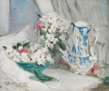 Натюрморт с синим кувшином - Шэнкс, Уильям Сомервилл