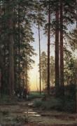 Опушка леса, 1879 - Шишкин, Иван Иванович