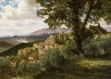 Деревня Олевано, Италия - Бирштадт, Альберт