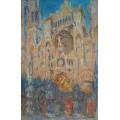 Кафедральный собор в Руане в солнечных лучах - Моне, Клод