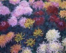Хризантемы - Моне, Клод