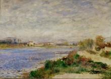 Сена близ Аржантея - Ренуар, Пьер Огюст
