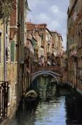 Мостик в Венеции - Борелли, Гвидо (20 век)