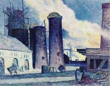 Доменные печи в Шарлеруа, 1907 - Люс, Максимильен