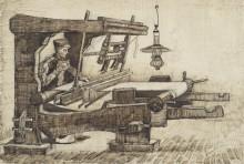 Ткач 3 (Weaver 3), 1884 - Гог, Винсент ван