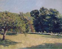 Сад в Трувиле, 1882 - Кайботт, Густав