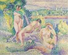 Нимфы, 1906 - Кросс, Анри Эдмон