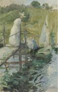 Летний день (фигура на мосту), 1900 - Твочтман, Джон Генри