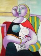 Женщина с книгой - Пикассо, Пабло