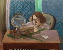 Женщина с аквариумом - Матисс, Анри