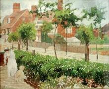 Вид на Бат-Роуд, Бедфорд-Парк, Лондон - Писсарро, Камиль