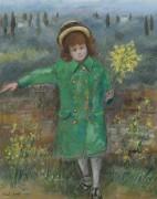 Девочка в зеленом, 1972 - Кашелла, Микеле