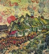 Коттеджи, воспоминание о севере (Cottages Reminiscence of the North), 1890 - Гог, Винсент ван