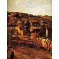 Синие крыши, около Руана, 1884 - Гоген, Поль