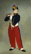 Флейтист - Мане, Эдуард
