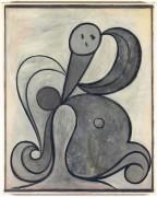 Женщина с арабесками - Пикассо, Пабло