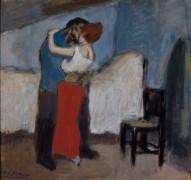 Свидание (объятие) - Пикассо, Пабло