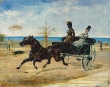 Темнокожая графиня - Тулуз-Лотрек, Анри де