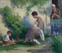Рольбуаз - мадам, Жан и Мадлен, 1927 - Люс, Максимильен