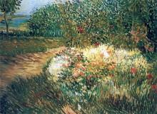 Уголок в Парке Дардженсон в Аньер (Corner of Voyer d'Argenson Park at Asnieres), 1887 - Гог, Винсент ван