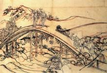 Мост - Кацусика, Хокусай