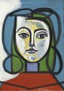 Портрет Франсуазы - Пикассо, Пабло