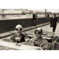 Пара в MG, Флоренция, 1951 - Оркин, Рут