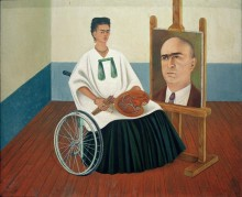 Автопортрет с портретом доктора Фарилла - Кало, Фрида