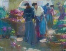 Цветочный рынок - Фотаней, Луис