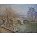 Королевский мост и павильон Флоры 1903 02 - Писсарро, Камиль