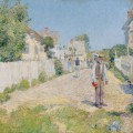 Улица в Глостере, 1896 - Хассам, Фредерик Чайлд