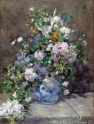 Букет весенних цветов - Ренуар, Пьер Огюст