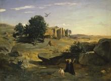 Агарь в пустыне - Коро, Жан-Батист Камиль