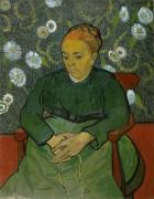 Колыбельная, портрет мадам Рулен (La Berceuse, Portrait of Madame Roulin), 1889 - Гог, Винсент ван