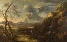Пейзаж с Тобиасом и Ангелом -  Роза, Сальватор