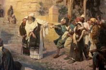 Христос и грешница, 1888 - Поленов, Василий Дмитриевич