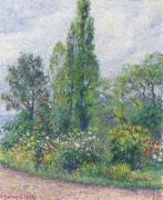 Сад Октава Мирбо в Демпфи (Эр), 1892 - Писсарро, Камиль
