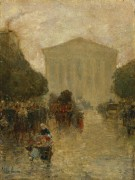 Сумерки после дождя, 1895 - Хассам, Фредерик Чайлд