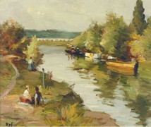 Река в Аморо, 1955 - Диф, Марсель