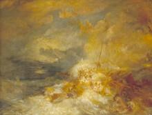 Бедствие в море - Тернер, Джозеф Мэллорд Уильям
