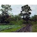 Дорога. 1890-00 - Левитан, Исаак Ильич