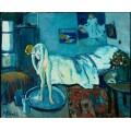 Голубая комната - Пикассо, Пабло