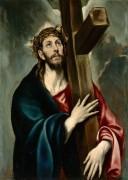 Христос, несущий крест - Греко, Эль