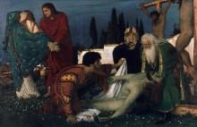Снятие с креста - Бёклин, Арнольд